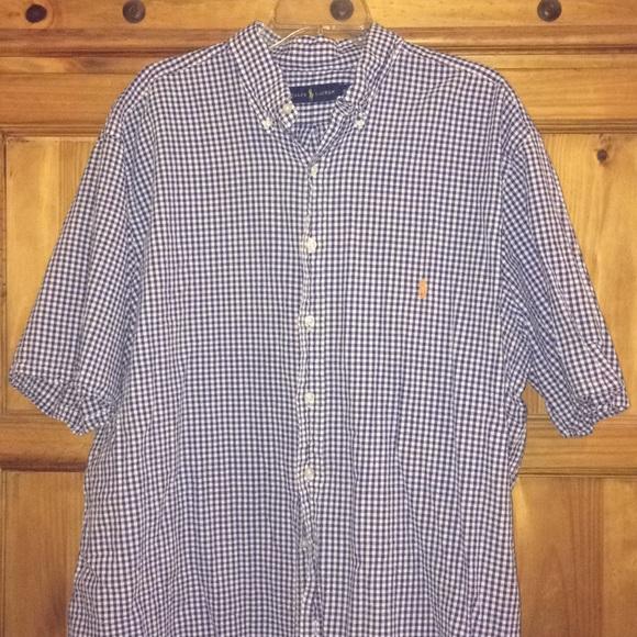 f1b018c8 Ralph Lauren Blue Label Shirts | 2xlt Ralph Lauren Mens Big Tall ...